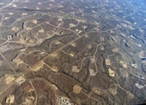 La ville de Sonora est un exemple typique du mitage de paysage et n'est  pas la seule dans ce cas là. Ces sites d'exploitation s'étendent sur plusieurs hectares fermés au public et certains sites naturels sont complètement détruits.