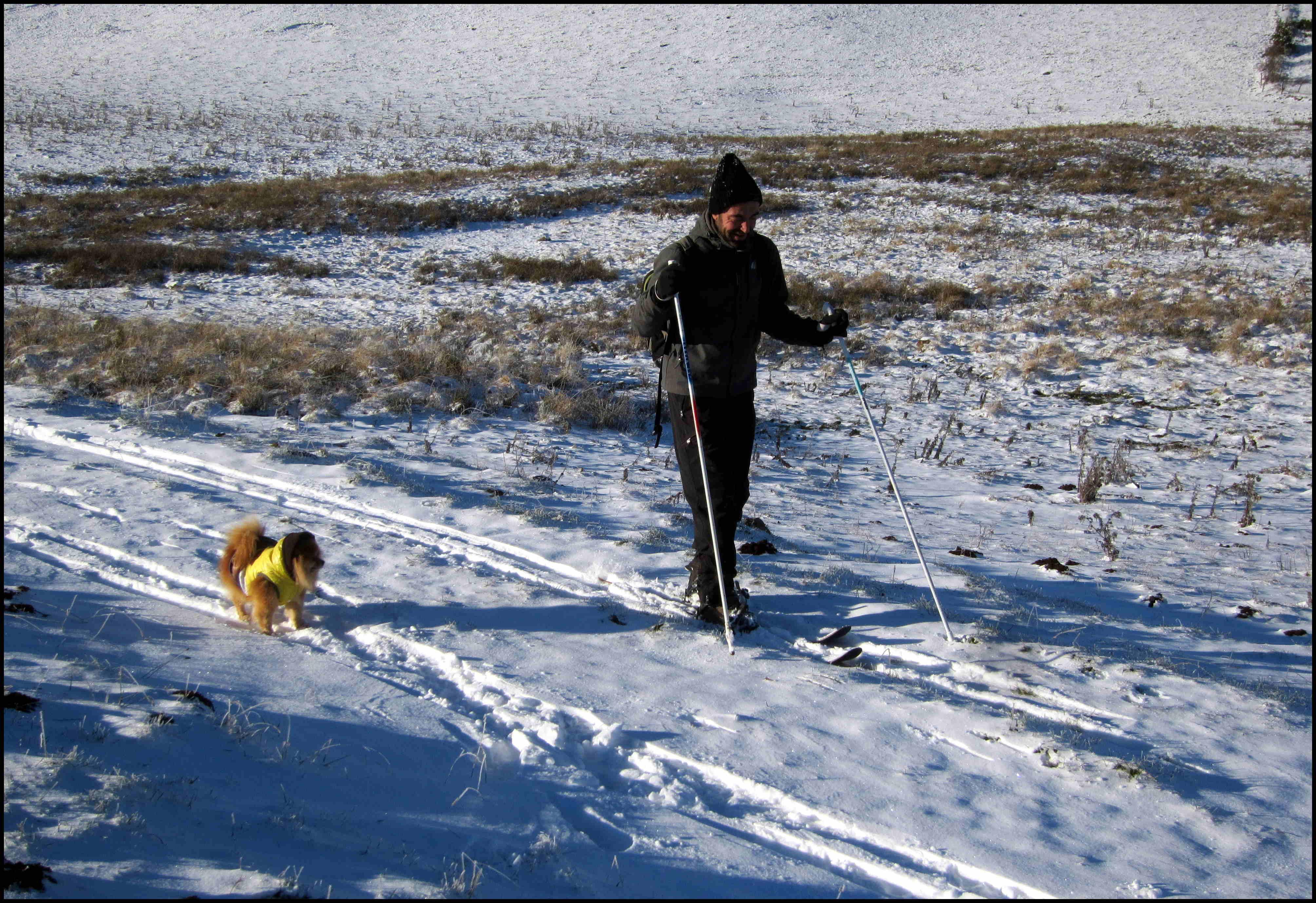 Premières neiges sur la Haute-Planèze (et sortie en Altaï Hok !)