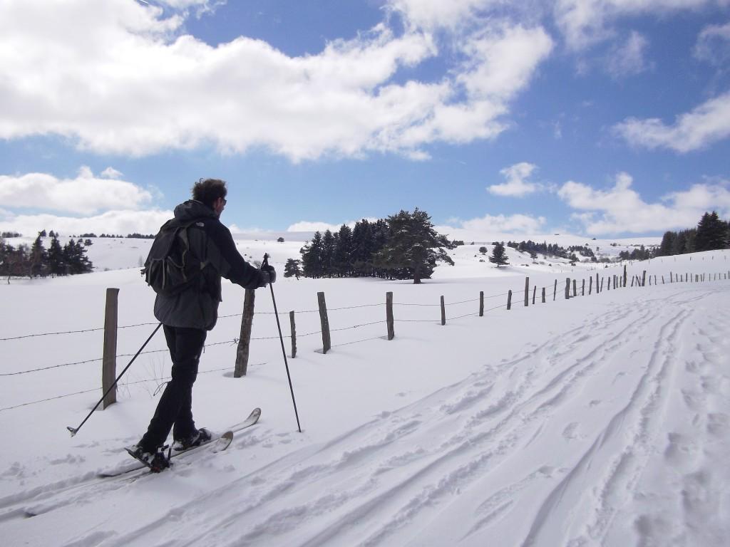 photographies Gladys, skieurs : Clément et François