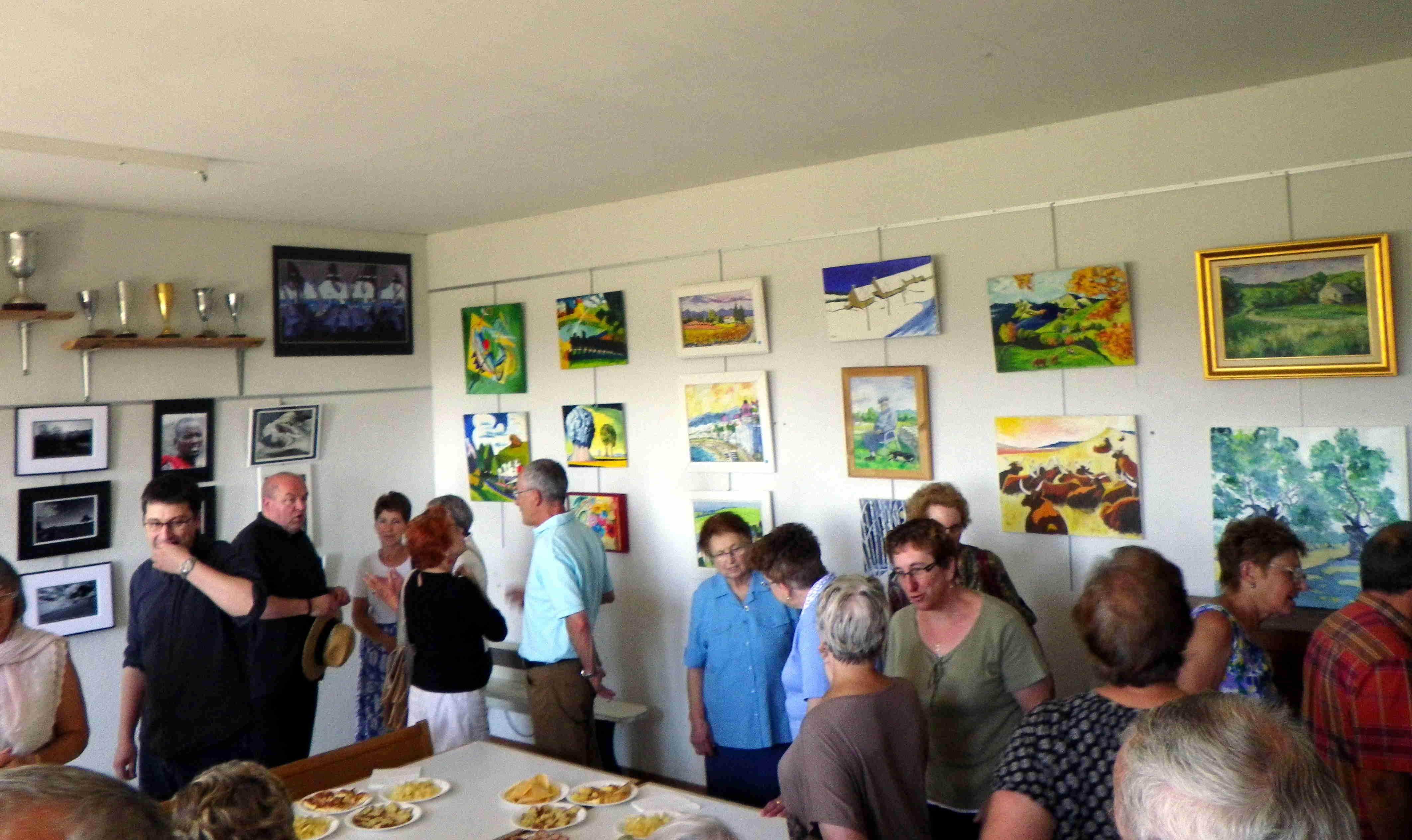 Des artistes au village du Ché exposent au foyer jusqu'à la fin du mois d'août