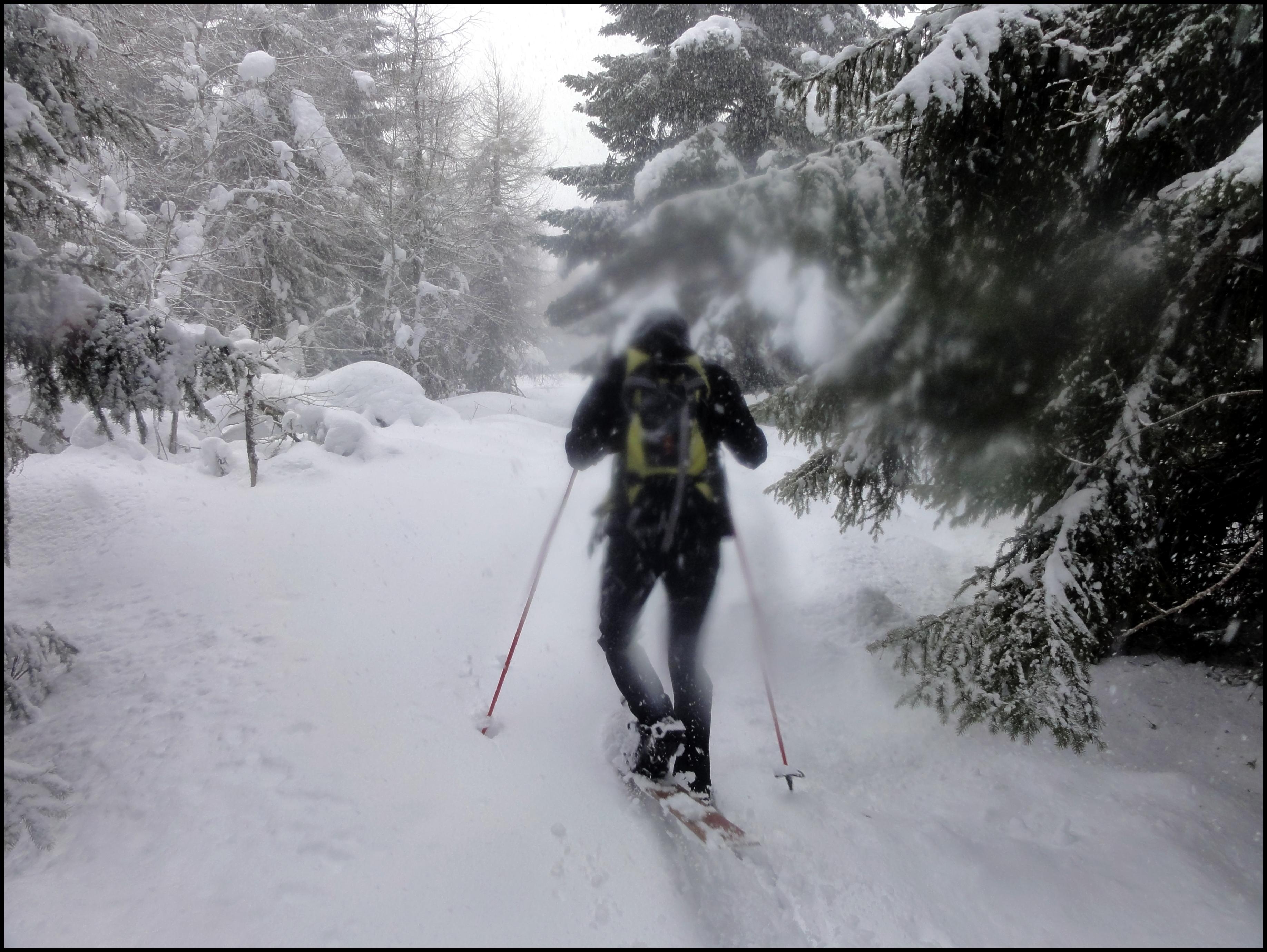 Une vague de froid et du ski HOK