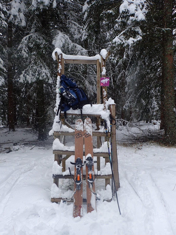 Un bel épisode neigeux en ce 20 décembre