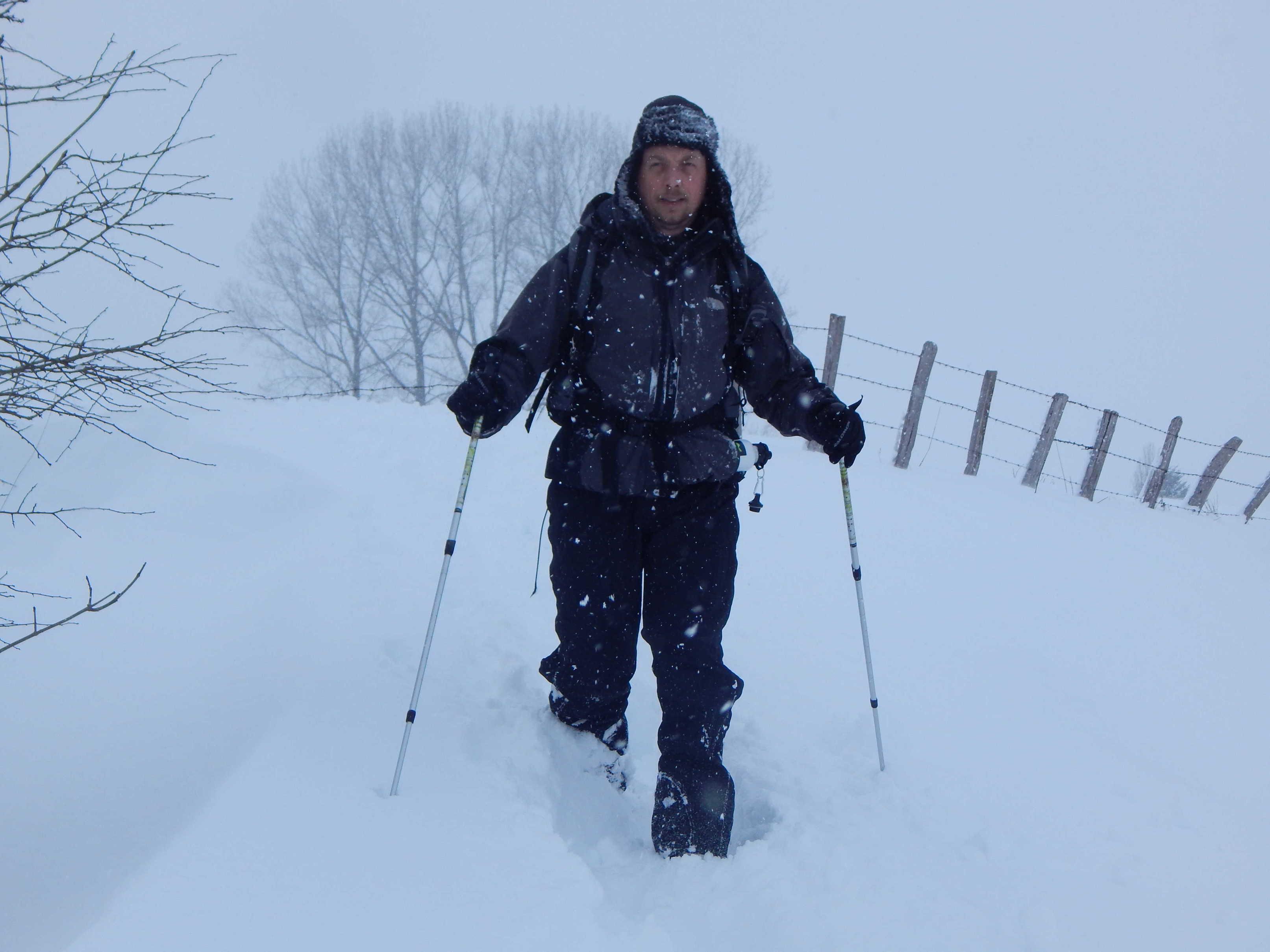 marc a la sortie  de la parcelle  coté prat de bouc ( ancien départ  des pistes de ski de fond)
