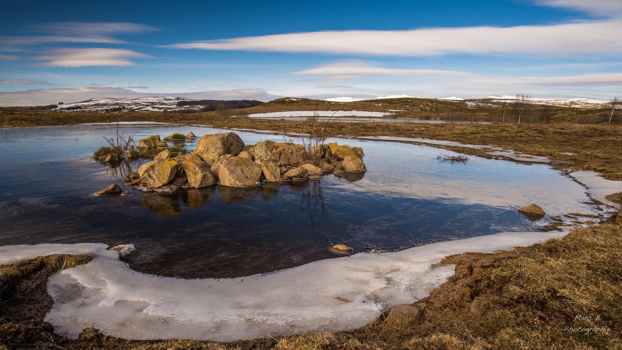 Le Lac Cibial par Marc Boisson