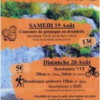 Affiche Rando Saint Roch