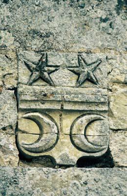 Blason de l'abbaye de l'Étoile